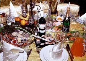 Праздник и праздничный стол