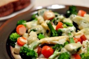 Приготовление замороженных овощей в мультиварке