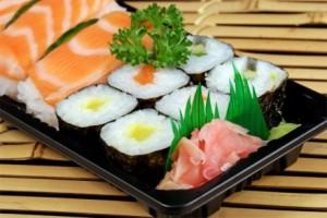Продукты, использующиеся для приготовления суши