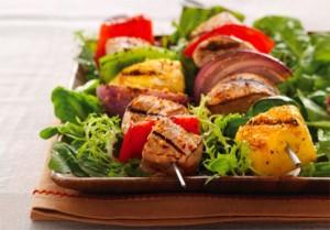 Гармоничное сочетание продуктов: мясо и ананас