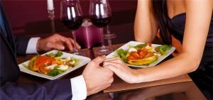 Приготовление романтического ужина