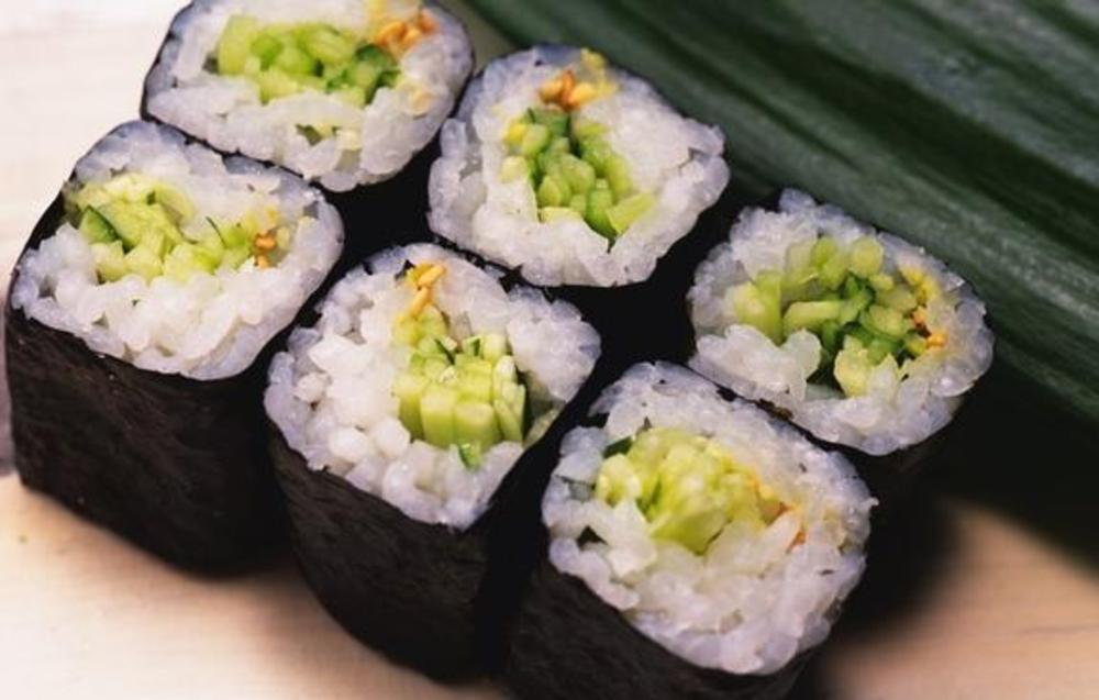 Рецепт вегетарианских суши